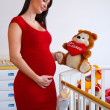 Pregnant woman — Stock Photo #26318293