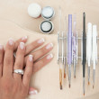 Manicure tools — Stock Photo