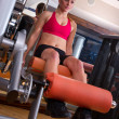 Woman in gym — Stock Photo #26328867