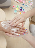 Hand care — Stock Photo