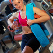 Woman in gym — Stock Photo #26330537