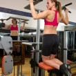 Woman in gym — Stock Photo #26331625