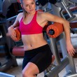 Woman in gym — Stock Photo #26331753