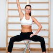 Fit womexercise — Stock Photo #26341403