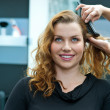 Woman in hair salon — Stock Photo