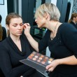 Make up artist at work — Stock Photo #26345211