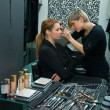 Make up artist at work — Stockfoto #26345215