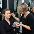 Make up artist at work — Stockfoto #26345419