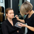 Make up artist at work — Stock Photo #26345425