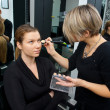 Make up artist at work — Foto de Stock