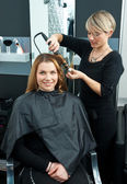 Curling hair — Stock Photo