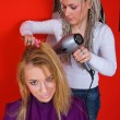 Hair stylist at work — Stock Photo #26352525