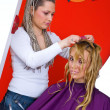 Hair stylist at work — Stock Photo #26353471