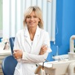 Woman dentist — Stock Photo