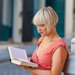 Woman with book — Stock Photo #26579969