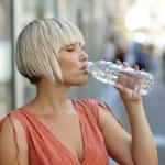 Drinking water — Stock Photo #26579987