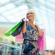 Woman in shopping mall — Stock Photo #26580261