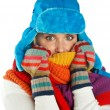 Woman in winter clothes — Stock Photo #26580267