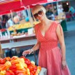 Woman on market place — Stock Photo #26580991