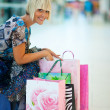 Woman shopping — Lizenzfreies Foto
