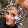 Woman in hair salon — Stock Photo #26590853