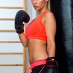 Woman boxer — Stock Photo #27436385