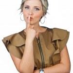 Woman making expression — Stock Photo #28230611