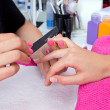 Woman hand on manicure — Stock Photo #29669249