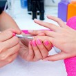 Woman hand on manicure — Stock Photo #29669525