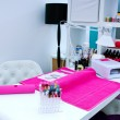 Foto Stock: Manicure table