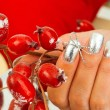 Стоковое фото: Womhand wit decorative bow