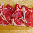 Veal chops — Stock Photo