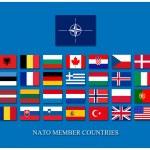 Nato members — Stock Photo