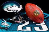 NFL ball — Foto de Stock