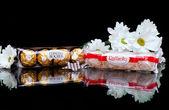 Chocolate candy bar — Stock Photo