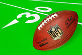 NFL ball and equipment — 图库照片