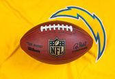 NFL ball and equipment — Stock Photo