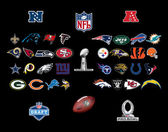 NFL american football — Foto Stock