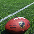 Nfl football on the field — Stock Photo #51393409