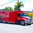 Coca cola delivery truck — Stock Photo #51394491
