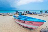 Tropical caribbean beach — Stock Photo