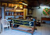 Cigar shop — Stock Photo