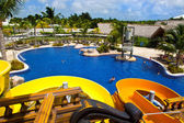 Resort in punta cana ,dominican republic, caribbean — Stock Photo