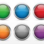 conjunto de botões Web — Vetor de Stock  #22128825
