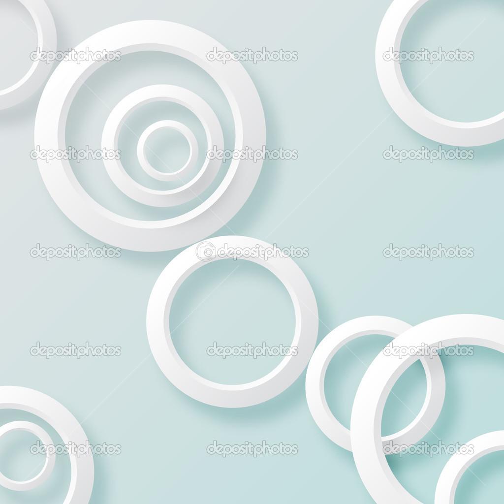 白皮书圆圈背景 2 — 图库矢量图像08