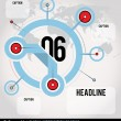 Global Infographic - Stock Vector