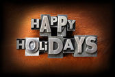Happy Holidays — Stock Photo