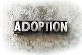 Adoption — Stock Photo