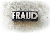 Fraud — Stock Photo