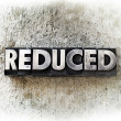Stock Photo: Reduced